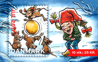 Denmark - Christmas seals 2017 - Mint booklet 10 Christmas seals