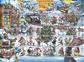 Danmark - Julemærkeark 2017 - Postfrisk gummieret juleark