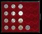 13 erindringsmønter fra Danmark