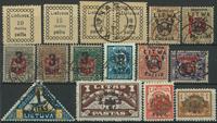 Litauen - Samling - 1918-40