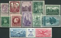 Belgium - Collection - 1948-1958