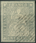 Switzerland - 1855