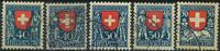 Switzerland - 1921-26