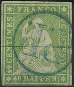 Switzerland - 1854