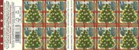België - Kerstmis 2017 - Postfris boekje met donkere achtergrond
