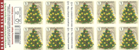 Belgium - Christmas 2017 - Mint booklet white background