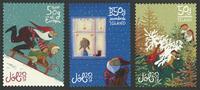 Island - Julen 2017 - Postfrisk selvklæbende sæt 3v
