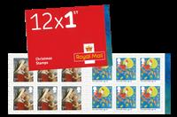 England - Juletegninger - Postfrisk hæfte 1st