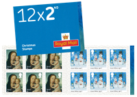 Great Britain - Christmas 2017 - Mint booklet 2nd
