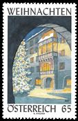Østrig - Advent 2010 - Postfrisk frimærke