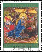 Østrig - Jul 2010 - Stemplet frimærke