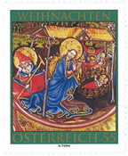 Østrig - Jul 2010 - Postfrisk frimærke