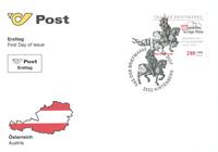 Østrig - Frimærkets Dag - Førstedagskuvert
