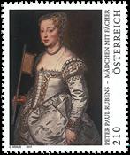 Østrig - Peter Paul Rubens - Postfrisk frimærke