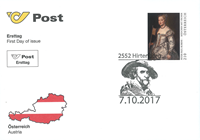 Østrig - Peter Paul Rubens - Førstedagskuvert