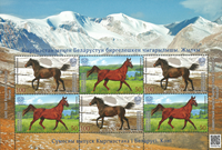 Kirgisistan - Heste - Flot småark