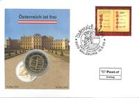 Østrig - Grundlov - Flot møntbrev