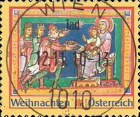 Autriche - Noël 2010 - Bloc-feuillet Oblitéré