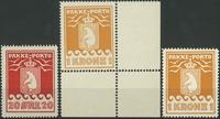 Greenland - Parcel stamps 1930-37