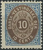 Dansk Vestindien - 1876