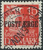 Danmark - postfærge - 1927