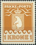 Greenland - Parcel stamps - 1937
