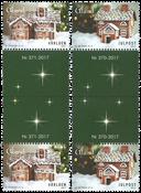 Åland Islands - Christmas 2017 - Mint Gutterpair