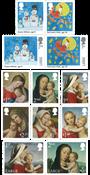 Engeland - Kerstmis 2017 - Postfrisse serie van 12