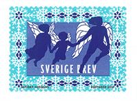 Sverige - Vinter engle - Postfrisk rullefrimærke
