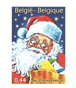 Belgium - Santa Claus from booklet - Mint