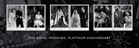 England - Jern-/Platin bryllup - Postfrisk miniark