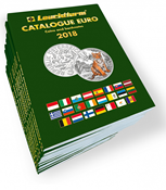 Euro mønt- og seddelkatalog 2018 - Engelsk