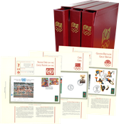 Olympics 100 years 1996 - official collection
