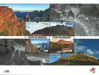 Madeira - Madeiras bjergtinder - Postfrisk miniark