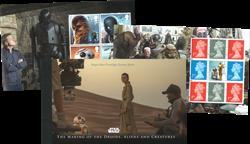 England - Star Wars - Postfrisk flot prestigehæfte