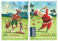 Christmas Islands - Christmas 2017 - Mint set 2v