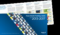 Færøerne - Frama 2013-2017 - Mappe med framamærker 2013-2017