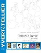 Yvert & Tellier frimærkekatalog - Europa S-Y, Bind  5 2017