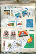 Iran - Timbres au kilo - 100 gr.