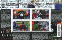 St. Pierre & Miquelon - Standardistes - Postfrisk miniark