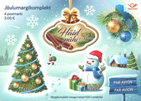Estland - Julen 2017 - Postfrisk miniark
