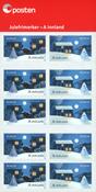Norge - Julen 2017 - Postfrisk frimærkehæfte