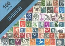 Sverige - 100 forskellige frimærker.