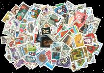 Hele Verden - 2000 forskellige frimærker