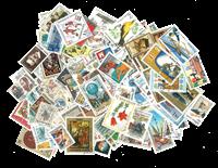 Østeuropa - 500 forskellige frimærker