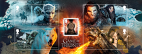 Englanti - Game of Thrones - Postituore blokki
