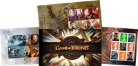 Englanti - Game of Thrones - Postituore juhlavihko