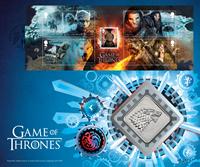 Englanti - Game of Thrones - Blokki kolikkokirjeessä