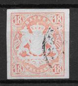 Baden 1867 - AFA 22a - Usado