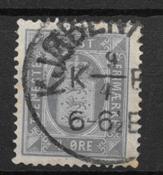 Danmak 1875 - Tj AFA 5a - Usado